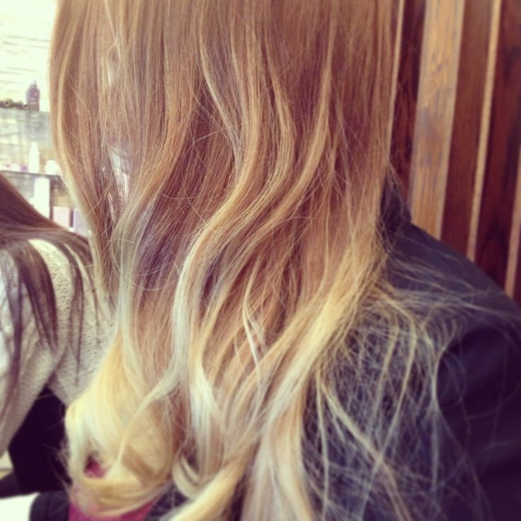 Copper and blonde belliage
