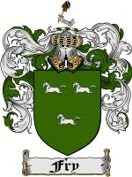 Fry Coat of Arms / Fry Family Crest