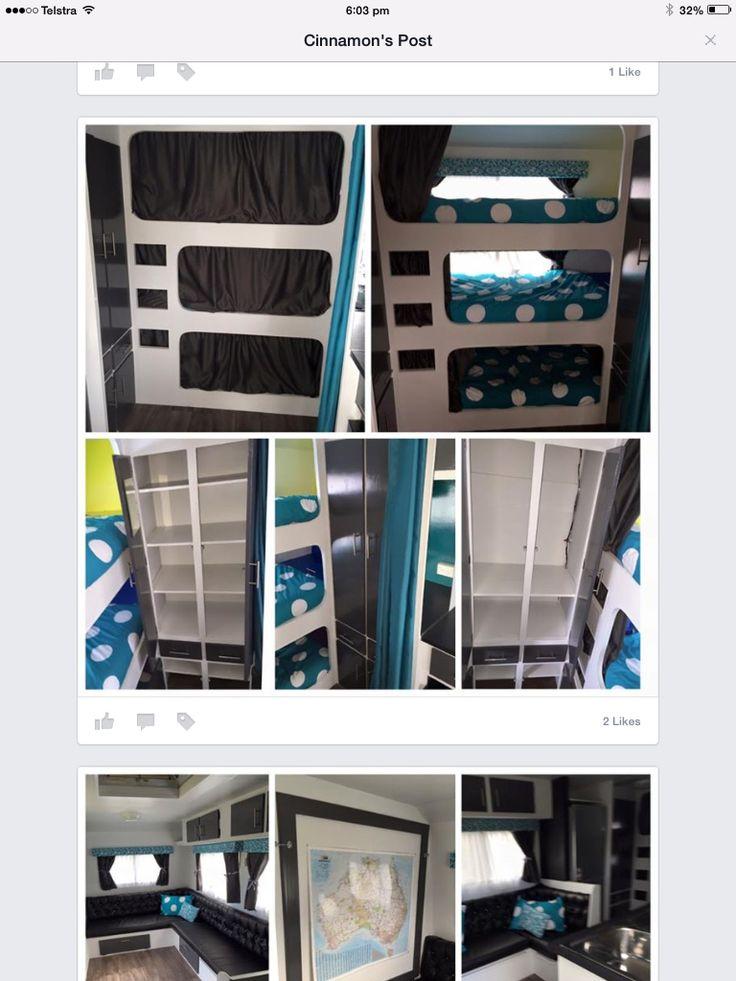 Caravan bunks                                                                                                                                                                                 More