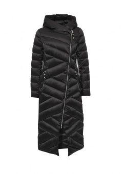 Пуховик, FiNN FLARE, цвет: черный. Артикул: FI001EWKHE79. Женская одежда / Верхняя одежда / Пуховики и зимние куртки