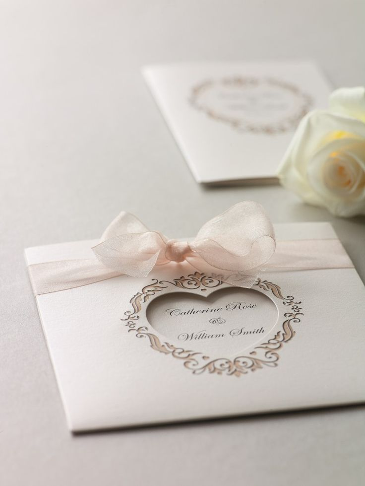 Set the scene for your big day with our beautiful wedding invitations