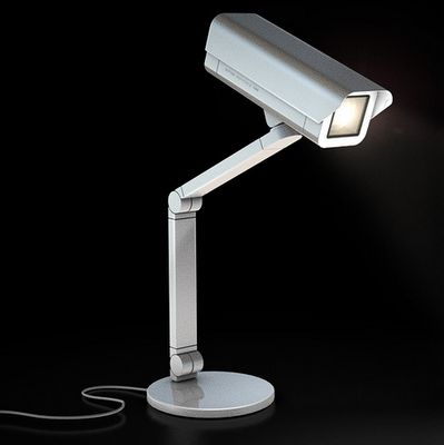 Faux Security Camera Lamps   Spoticam, Designed By Antrepo, Is A Lamp That  Resembles A Security Camera. The Unique Light Can Be Hung From The Wall Or  Used ...