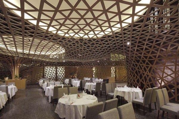 Original Bamboo-Themed Restaurant in China: Tang Palace