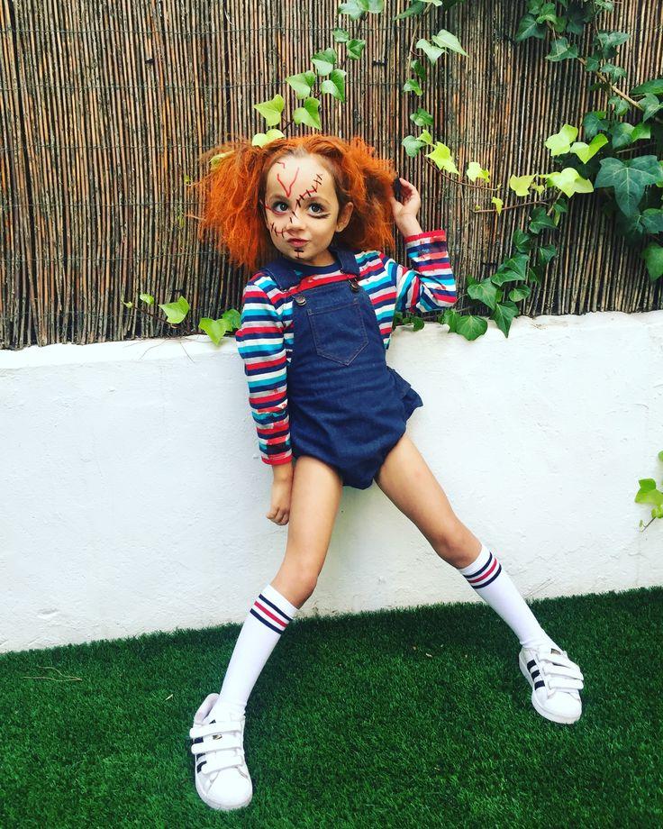 Scary Chuky DIY for Halloween Chucky costume, Halloween