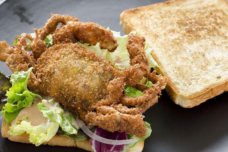【実食】蟹1匹が丸ごとサンドイッチに!?表参道で話題の「トーストサンドイッチバンブー」【Lets】レッツエンジョイ東京