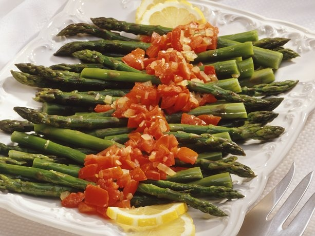 Asparagus: Side Dishes, Color, Food, Recipes, Asparagus, Vegetable, Tomatoes, Sides
