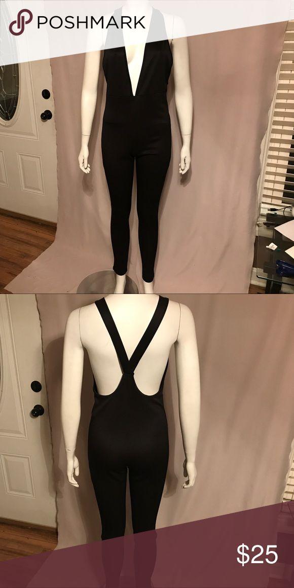 Black catsuit Black catsuit Tic Toc Tops