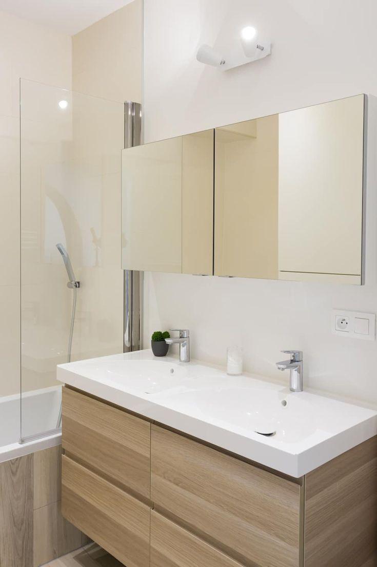 Rénovation de standing rue de l'Odéon: Salle de bain de style de style Moderne par Mon Concept Habitation