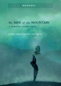 My Side of the Mountain By Jean Craighead George. Terribly unhappy in his family's crowded New York City apartment with his many siblings, Sam Gribly runs away from home to the solitude of the Catskill mountains where he sets up home in a hollowed out tree...