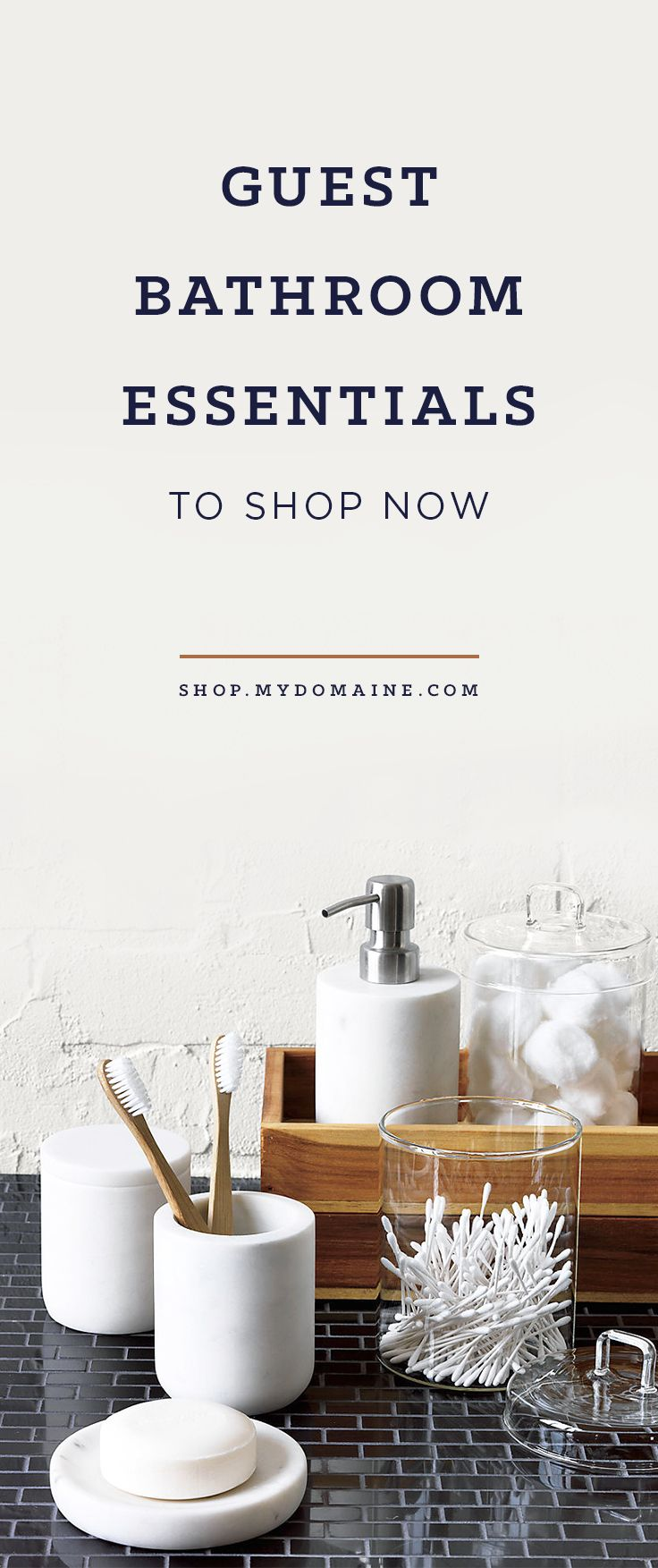 Guest Bathroom Essentials to Delight Your Nearest and Dearest