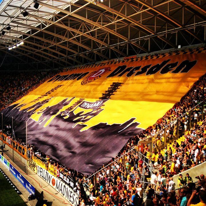 Stadion Dresden in Dresden, Sachsen