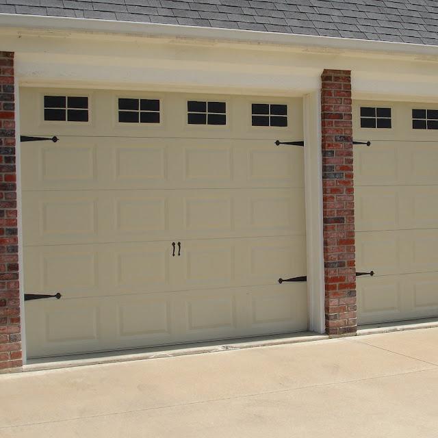 Have Boring Old Garage Door? Use This Faux Carriage Door Tutorial To Update  The Look Of Your Garage Doors Today!