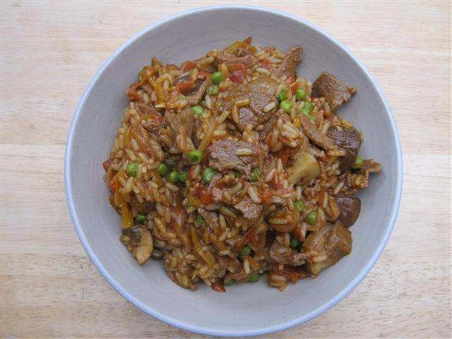 Spicy Beef & Rice