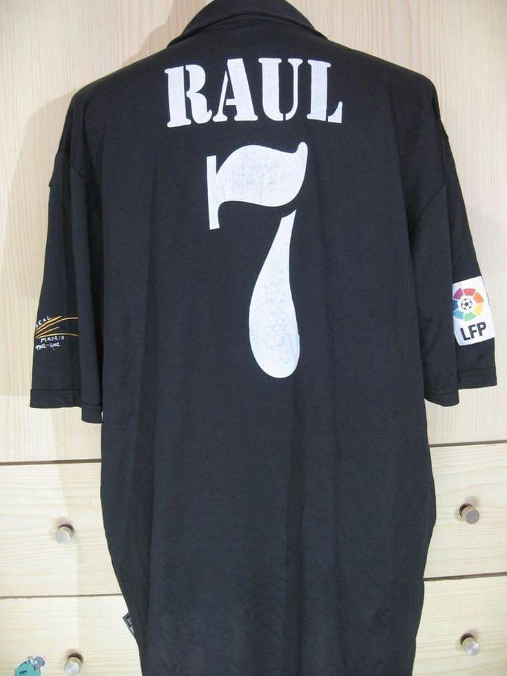 Raul Gonzalez Real Madrid Centenary 2002 Spain Football Shirt Soccer Jersey XL | eBay