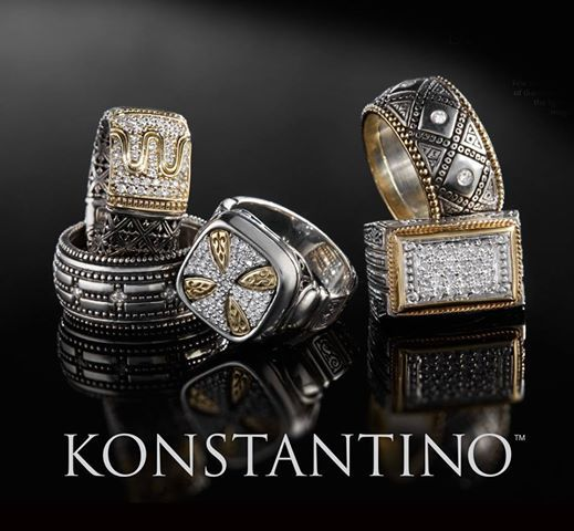 Don't miss this fabulous trunk show Saturday, where Konstantino's unique and timeless jewels abound.  Bailey Banks & Biddle at St. Louis Galleria 1479 St Louis Galleria, St. Louis 63117