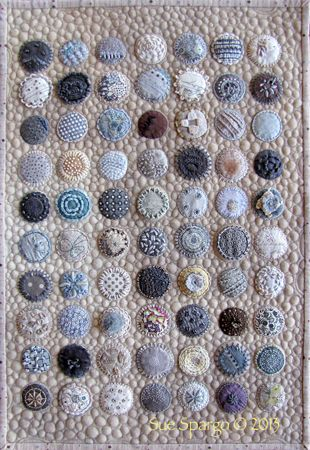 an example quilt from Creative Texturing book by Sue Spargo