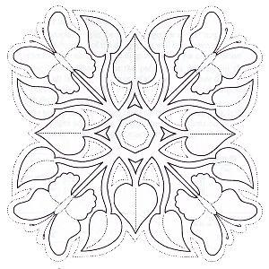 Gratis mozaiek patroon