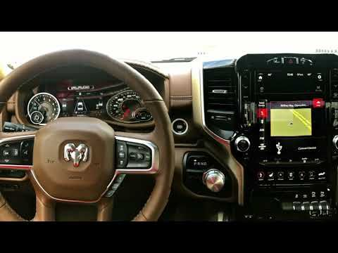 12 Inch Uconnect Touchscreen on the 2019 RAM 1500 | 2019 RAM