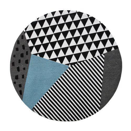 Rebecca Judd Loves Adairs Kids Roundie Floor Rug Splice, kids rugs, kids room