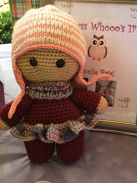 Ravelry: Project Gallery for Big Head Baby Doll pattern by Anastasia Makeeva