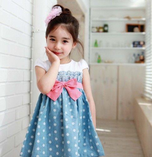sleeveless round dot skirt Princess Dress