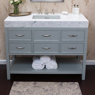 """<strong>Ronbow</strong> Newcastle 48"""" Bathroom Vanity Cabinet Base…"""