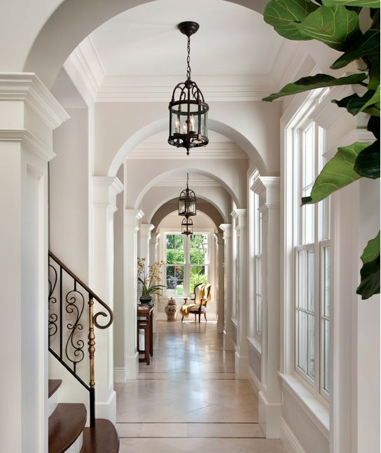 Lovely Contemporary Victorian Hallway: 103 Best Hallways Images On Pinterest