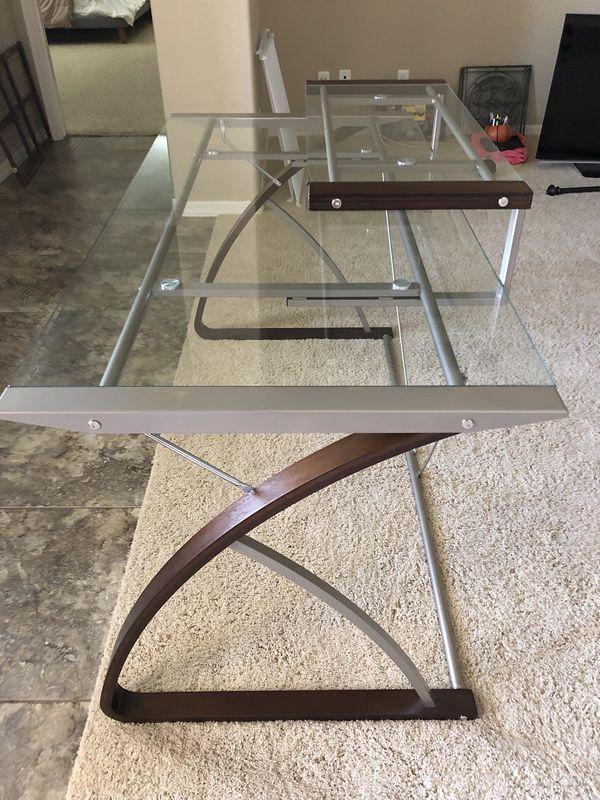 Glass Desk For Sale In Chandler Az Bedroom Ideas Pinterest