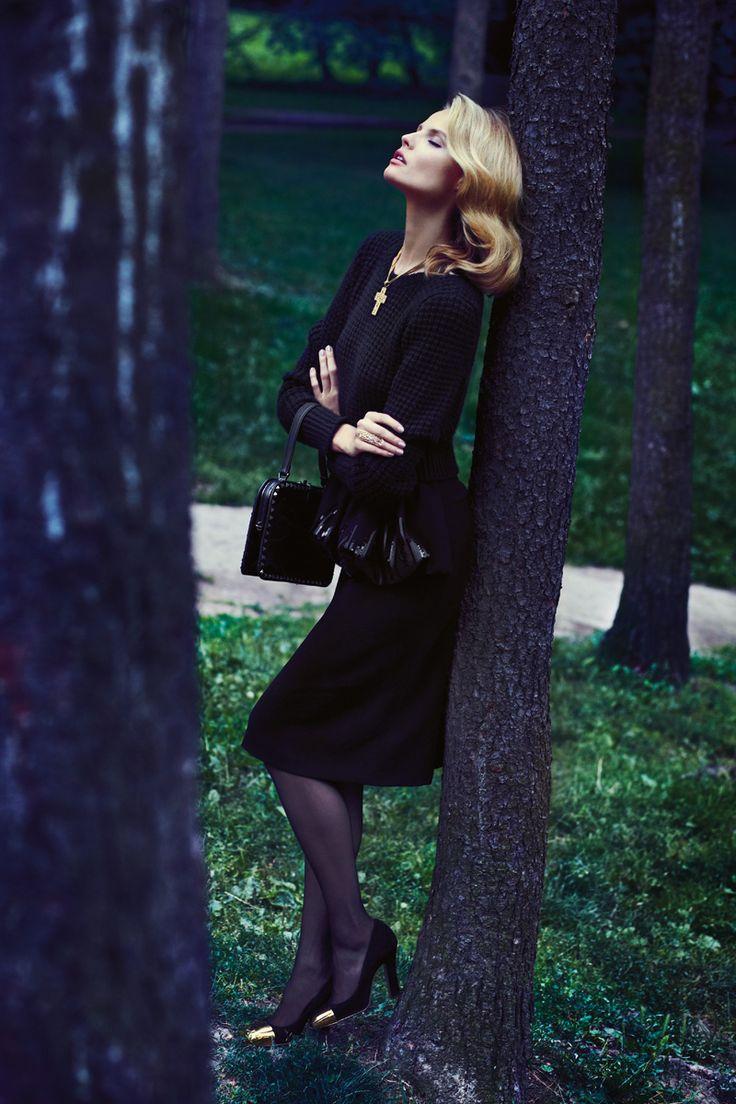 Pani September 2012  Модель: Магдалена Фраковьяк (Magdalena Frackowiak)  Фотографы: Zuza Krajewska & Bartek Wieczorek
