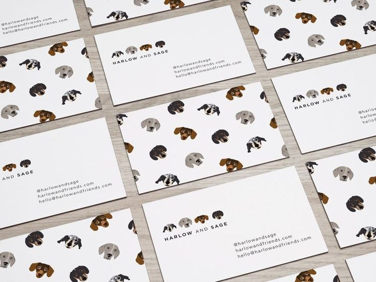 Harlow and Sage Business Card