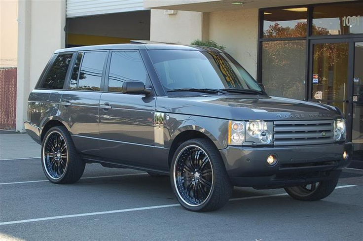"Range Rover on rims   2004 Range Rover HSE 50K miles with 24"" Asanti rims - Norcal-LSX"