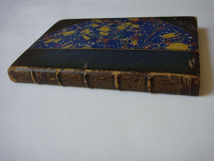SYLVIE, Gerard de Nerval 1886 Paris illustrated book leather Limited Edition