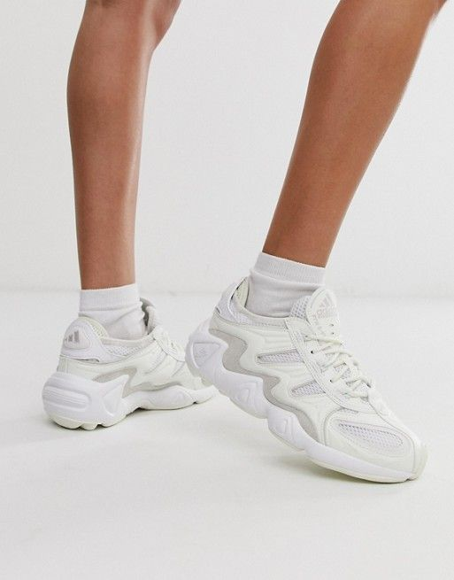 642bae00df664 adidas Originals FYW S-97 trainers in off white in 2019   Adidas   Adidas,  Adidas originals, Sneakers nike