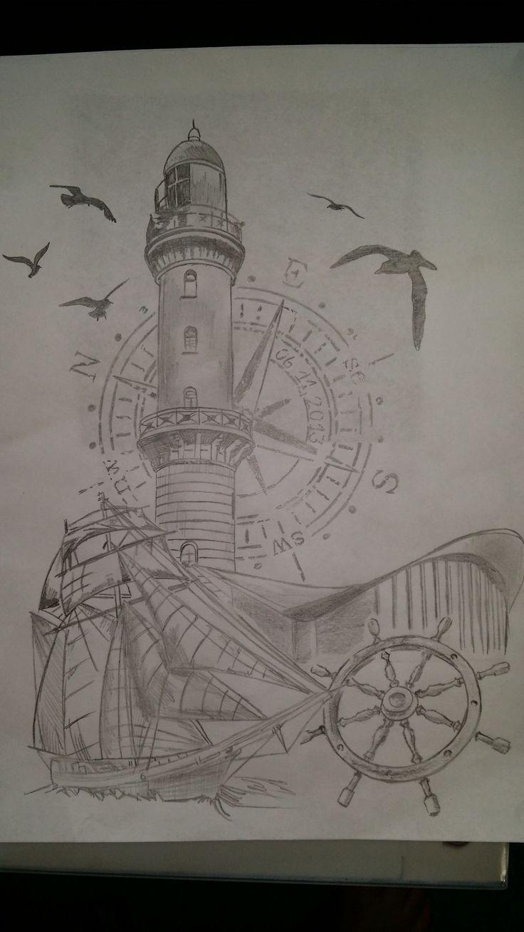 Leuchtturm Warnemünde Teepott