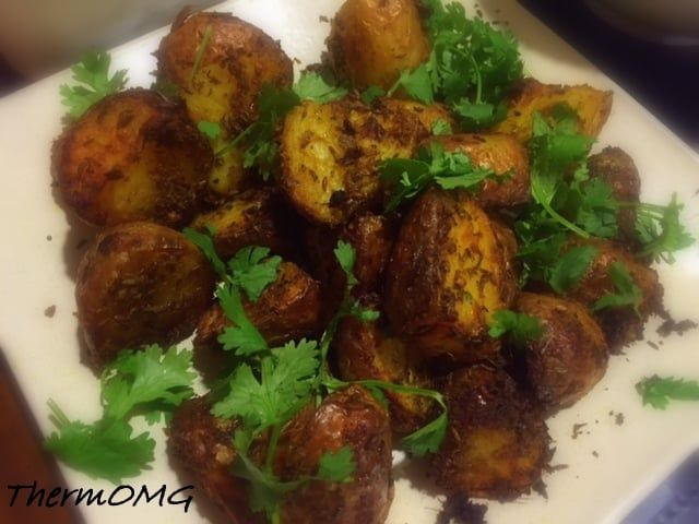Crunchy Spiced Potatoes — ThermOMG