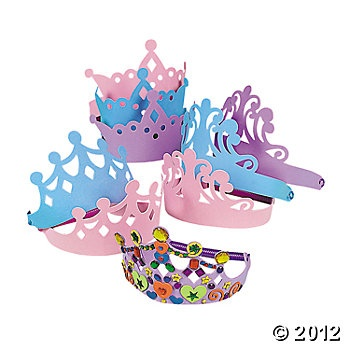 Tiara Assortment, Hats & Masks, Craft Kits & Projects, Craft & Hobby Supplies - Oriental Trading