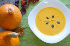 Dýňová polévka #dýně #podzimní polévka