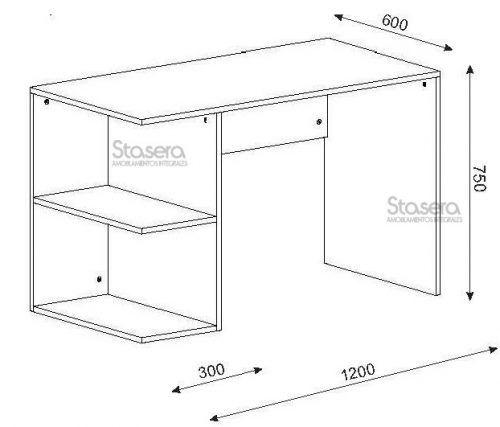 17 mejores ideas sobre escritorio moderno en pinterest for Medidas estandar de escritorios de oficina