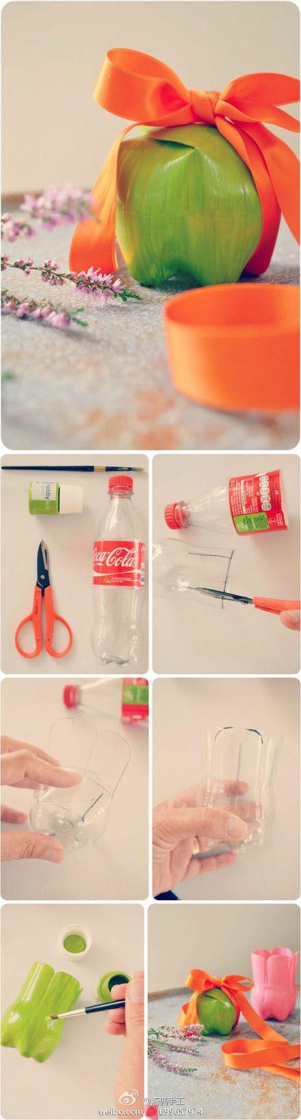 Pinterest the world s catalog of ideas for Plastic bottle project ideas