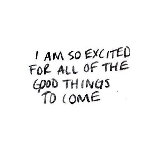 quote, excited, and life afbeelding