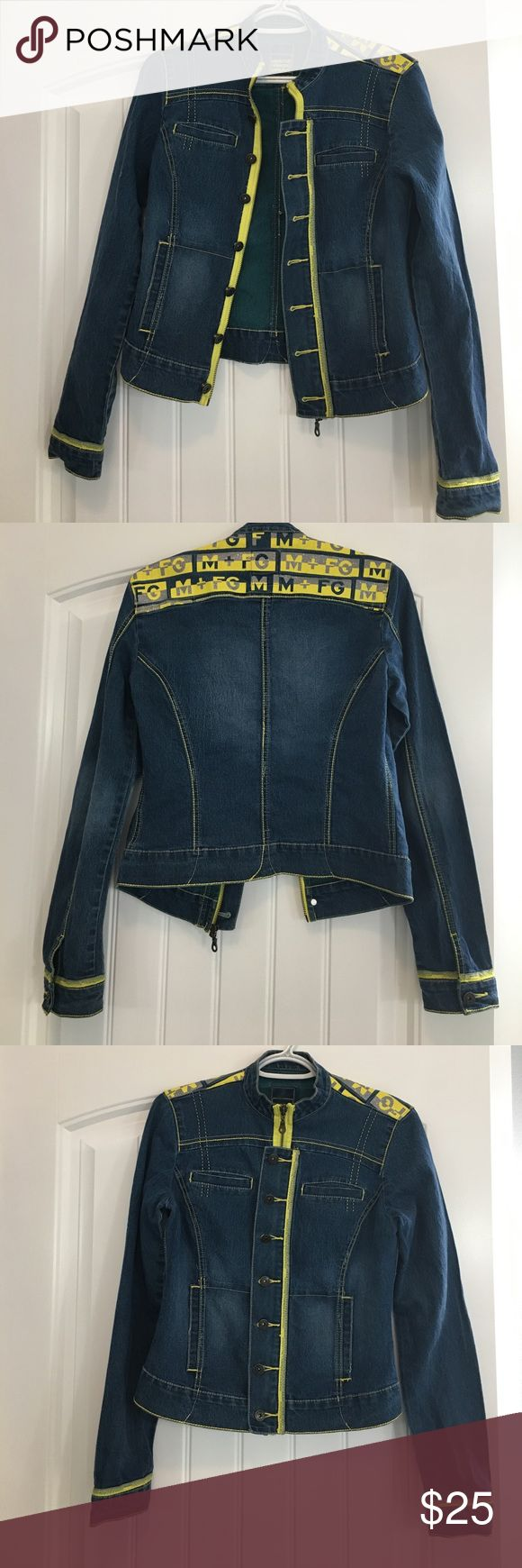 marithe francois girbaud jean jacket EUC. Marithe Francois Girbaud jean jacket marithe francois girbaud  Jackets & Coats Jean Jackets