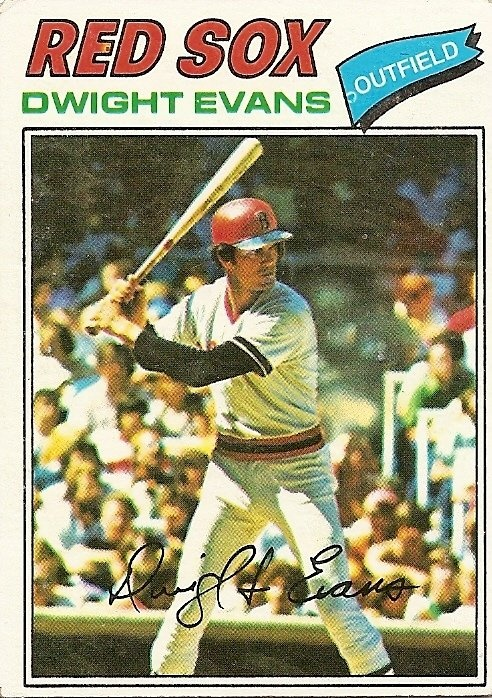 dwight evans baseball card - Google Search