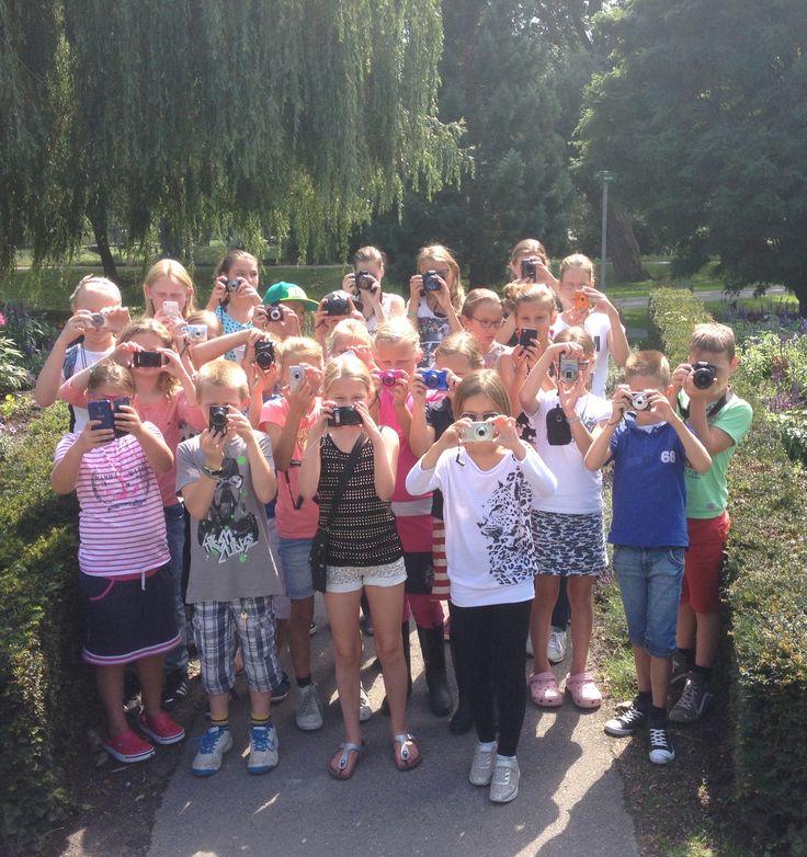Fotoworkshop voor kids in het Arboretum Munnikepark Zwijndrecht
