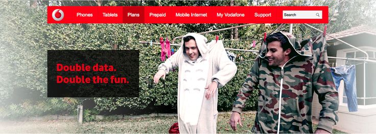 Lees Models Commercial talent in Vodafone TVC & Stills Campaign for Vodafone.