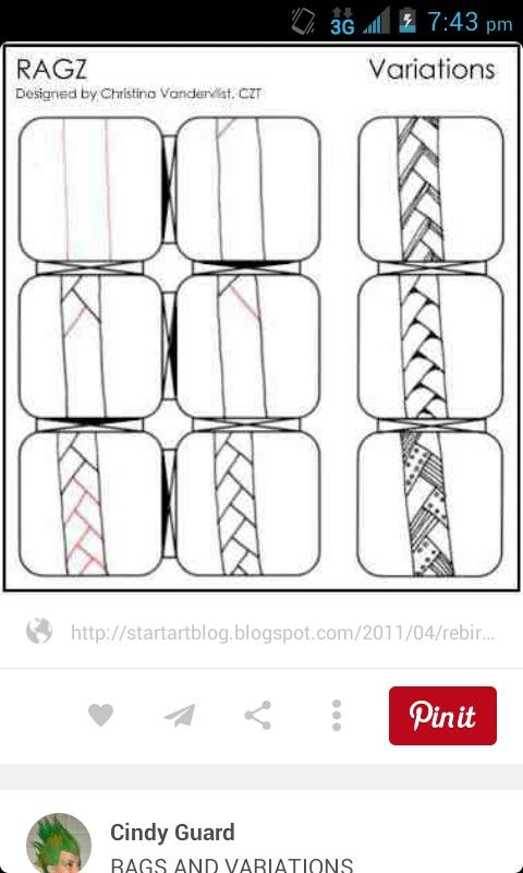 Inspiration | Zentangle patterns | Pinterest | Inspiration