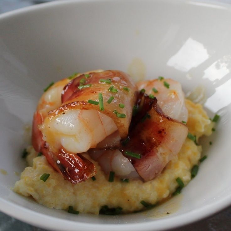Shrimp And Grits With Bacon Recipes — Dishmaps
