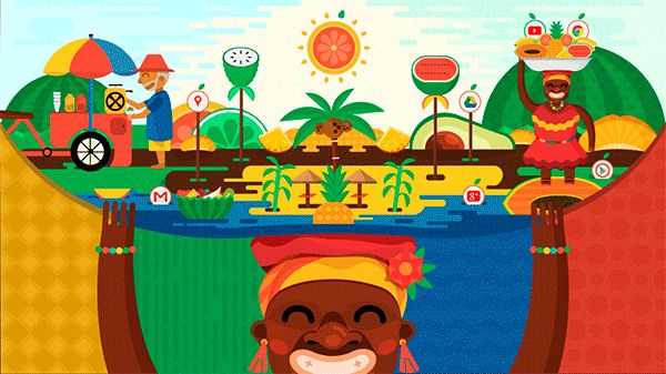 Colombia frutal on Behance