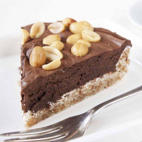 Chocolate Mousse Almond Tart