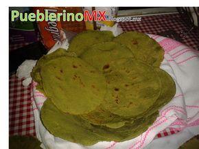 TORTILLA DE NOPAL (receta)