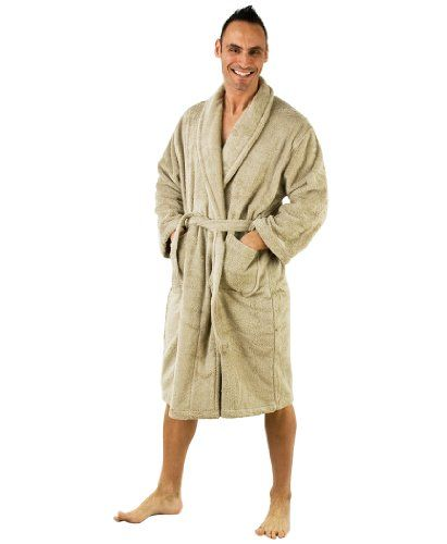 turkish terry bathrobe shawl collar terry cloth robe for women and men made - Mens Bathrobes
